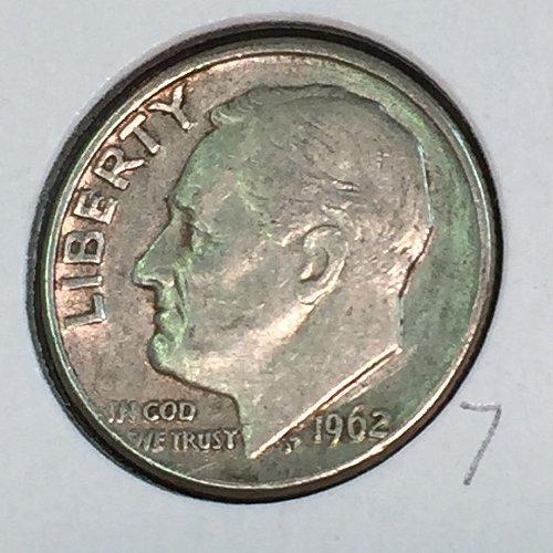 1962-D Roosevelt Dime (41226)