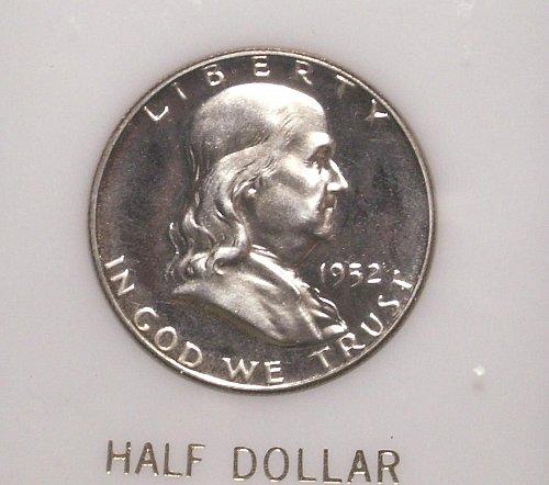1952 Franklin Silver Half Dollar Proof Stock # GF52pr