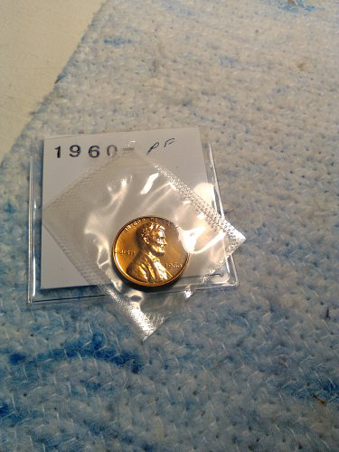 1960 PROOF LINCOLN CENT