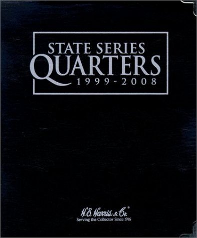 State Quarter Series 1999-2008 H.E. Harris Black Album 8HRS2600