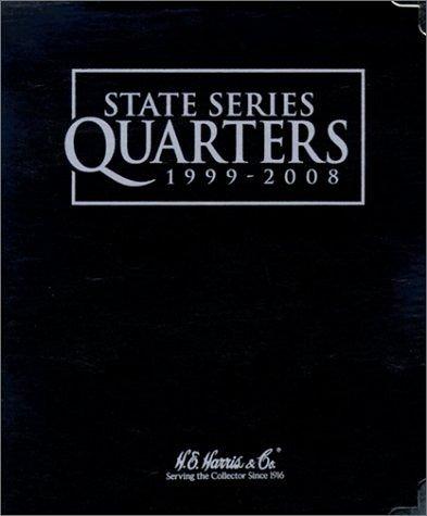 State Quarter Series 1999-2008 H.E. Harris Black Album 8HRS2600