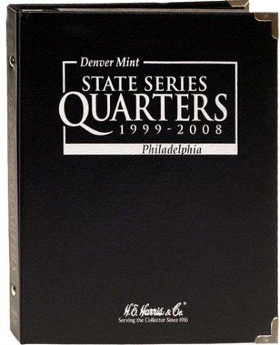 State Quarter Series P and D Mint 1999-2008 H.E. Harris Black Album 8HRS2601