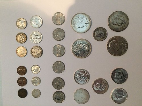 U.S. TWENTIETH CENTURY TYPE COINS FOR A COLLECTION SET
