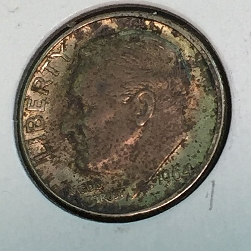 1964-D Roosevelt Dime (41255)