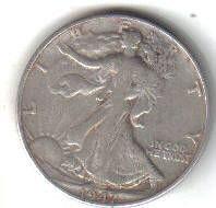 1947    WALKER HALF DOLLAR