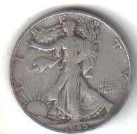 1945  S   WALKER HALF DOLLAR