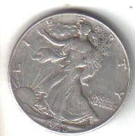 1946    WALKER HALF DOLLAR