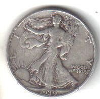 1939    WALKER HALF DOLLAR