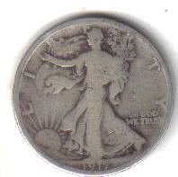 1917    WALKER HALF DOLLAR