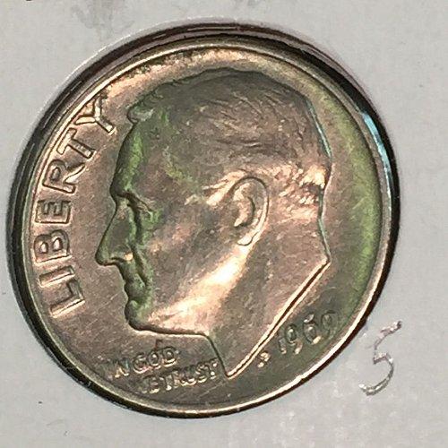 1969-P Roosevelt Dime (10321)
