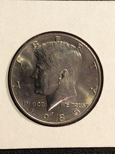 1985 P Kennedy Half Dollar