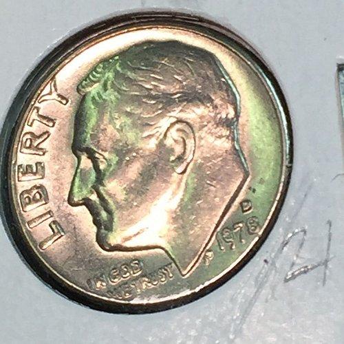 1978-D Roosevelt Dime (10338)
