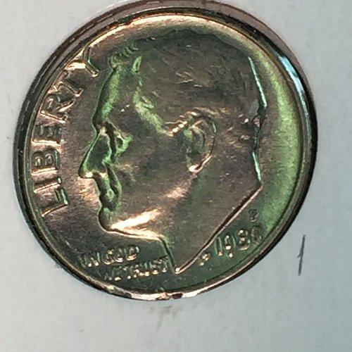 1980-P Roosevelt Dime (10340)