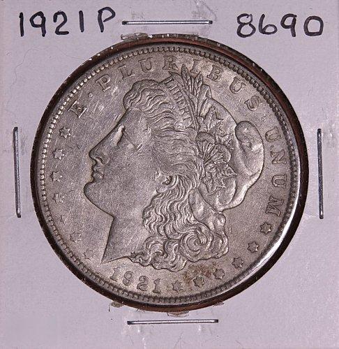 1921 P MORGAN SILVER DOLLAR 8690 F15