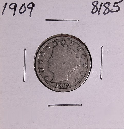 1909 P  LIBERTY NICKEL 8185