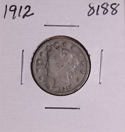 1912 P  LIBERTY NICKEL 8188