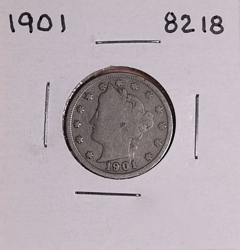 1901 P  LIBERTY NICKEL 8218
