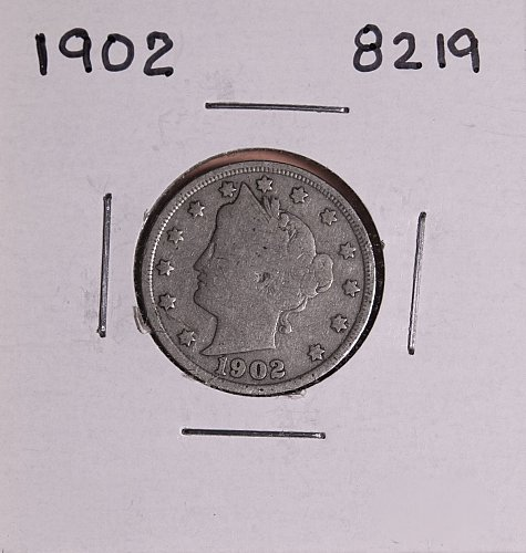 1902 P  LIBERTY NICKEL 8219