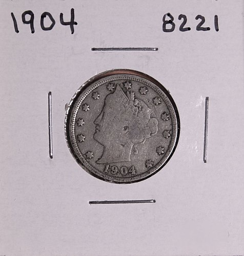 1904 P  LIBERTY NICKEL 8221