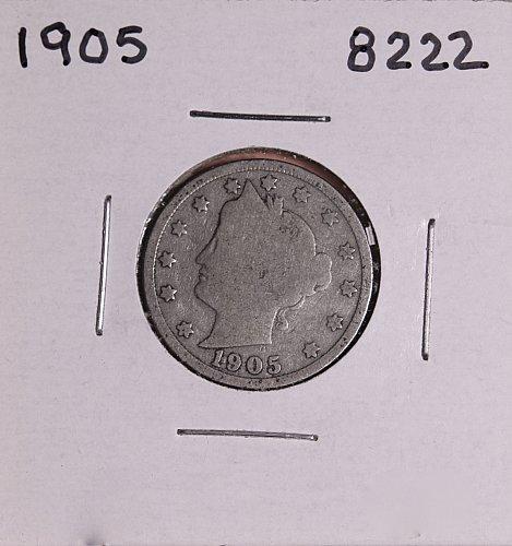 1905 P  LIBERTY NICKEL 8222
