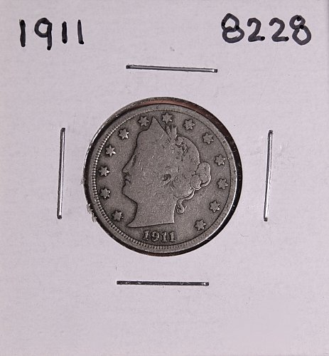 1911 P  LIBERTY NICKEL 8228