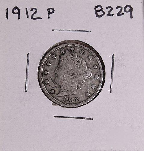 1912 P  LIBERTY NICKEL 8229