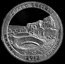 2012 S   SILVER  PROOF  CHACO CULTURE  WASHINGTON QUARTER