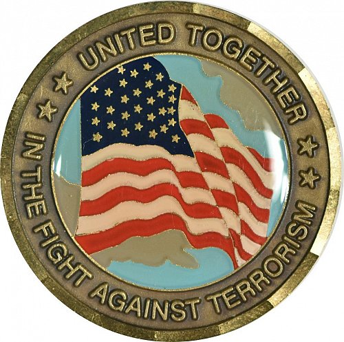 Challenge Coin, 911 Memorial, (Item 434)