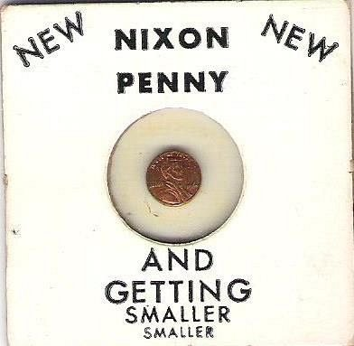 Nixon Penny {And Getting Smaller}
