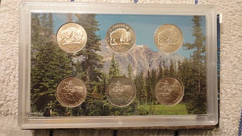 2005 U.S. Mint Westward Jouney Nickel Set P,D,S