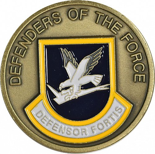 Challenge Coin, U. S. Air Force Security Forces, (Item 409)