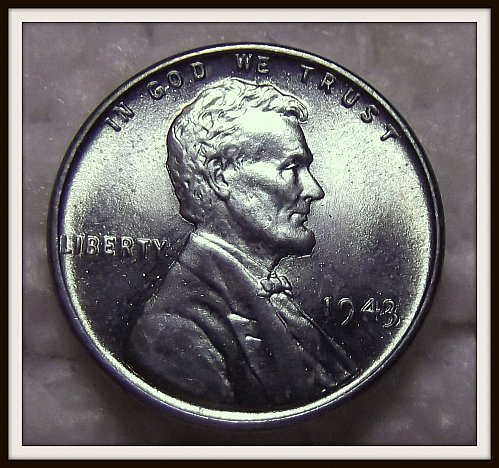 1943 - P Steel Lincoln Wheat Cent