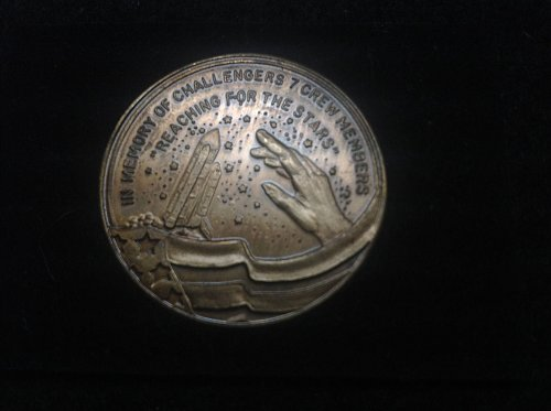 1986 challenger 7 commemorative coin