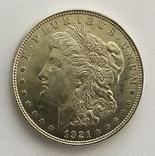 1921 P Morgan Dollar MS-63