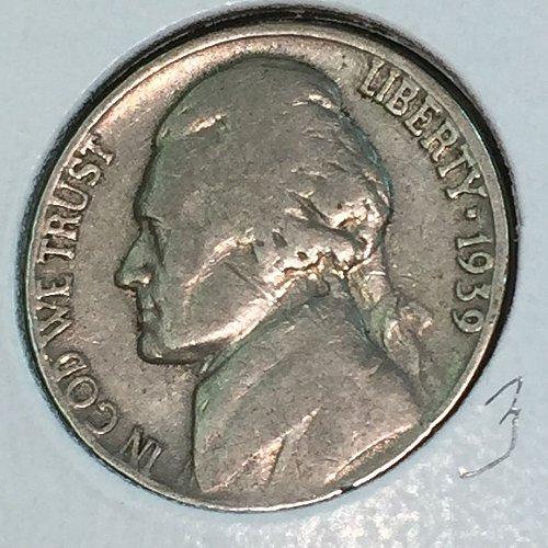 1939-P Jefferson Nickel (41316)