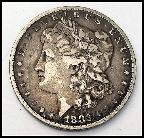 1882 P Morgan Dollar