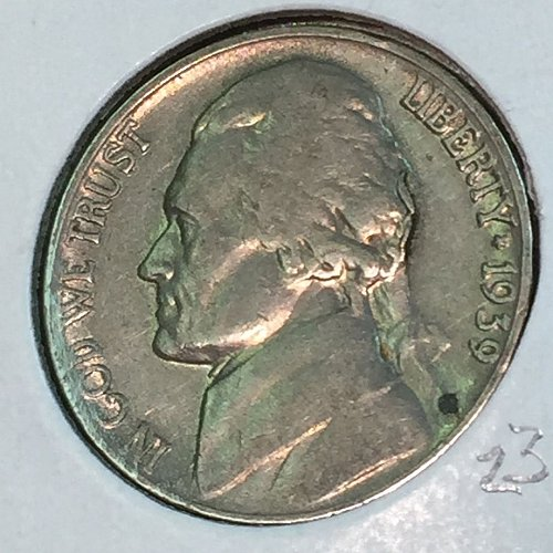 1939-P Jefferson Nickel (41329)