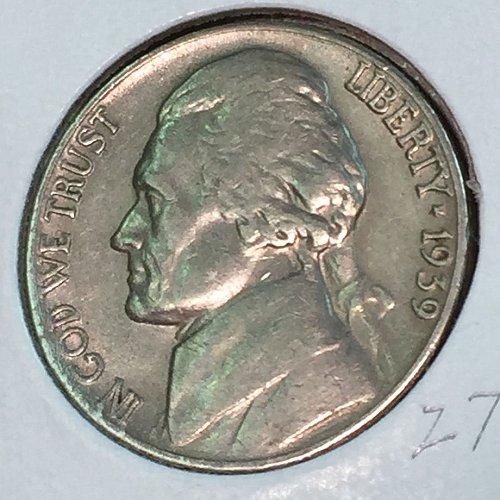 1939-P Jefferson Nickel (41331)