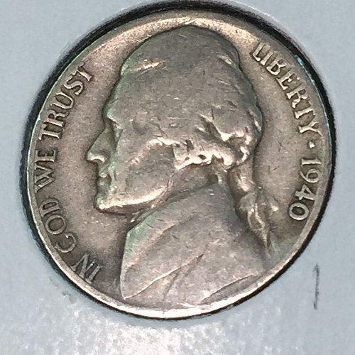 1940-D Jefferson Nickel (41334)