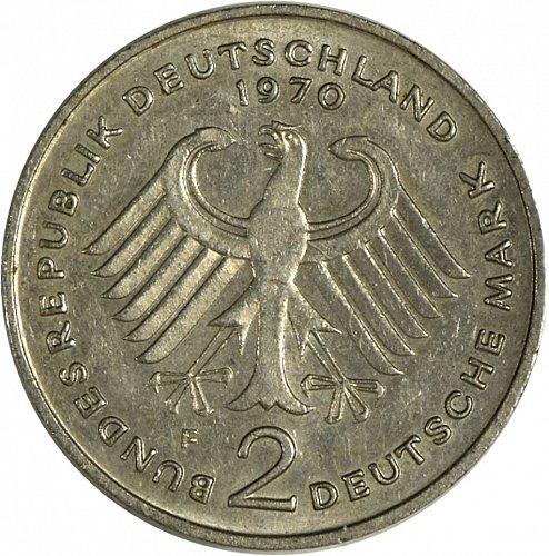Germany, 1970 F, 2 Marks,  (Item 417)