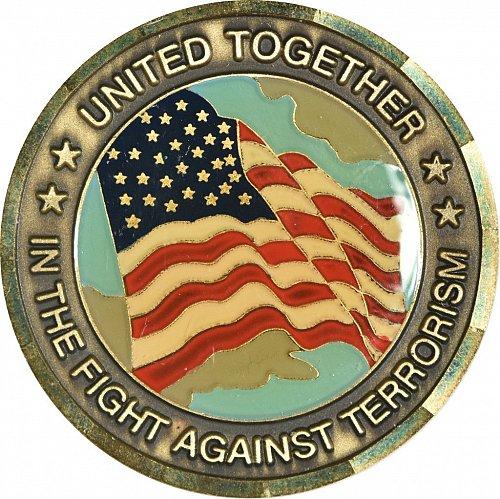 Challenge Coin, 911 Memorial, (Item 407)