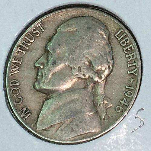 1946-D Jefferson Nickel (41353)