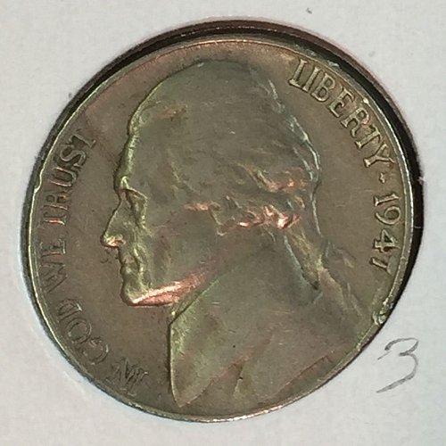 1947-P Jefferson Nickel (41363)