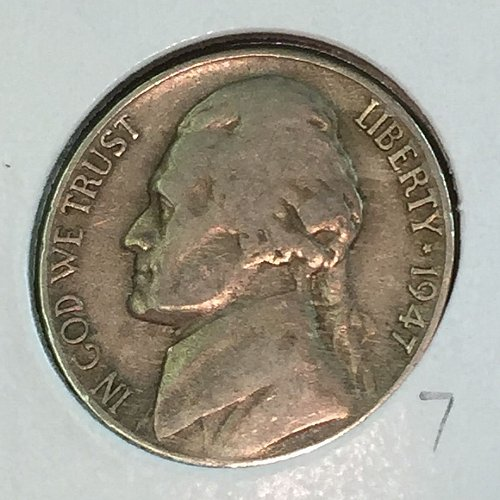1947-D Jefferson Nickel (41367)