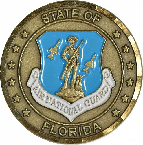Challenge Coin, Florida Air National Guard, (Item 406)