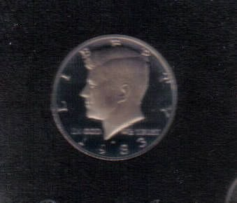 1983 S  PROOF  KENNEDY HALF DOLLAR