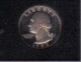 1983  S  PROOF  WASHINGTON QUARTER