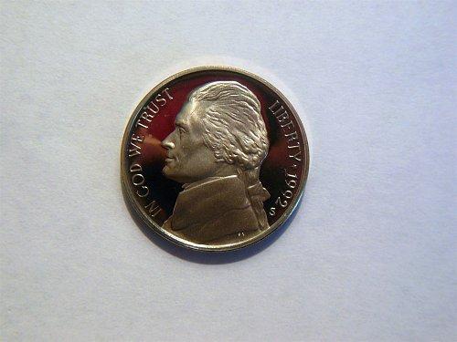 1992-S Jefferson Nickel