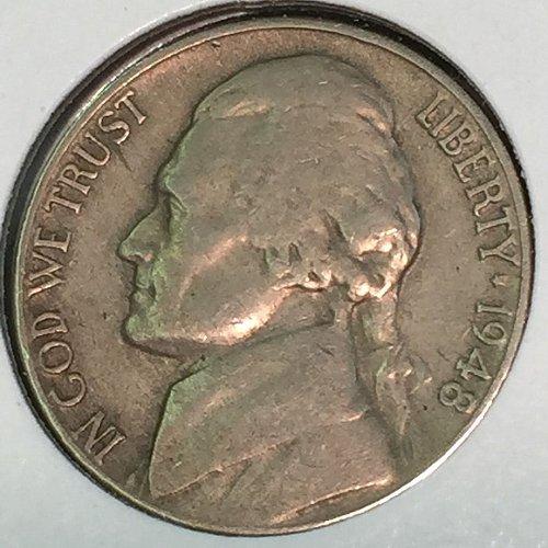 1948-P Jefferson Nickel (10456)