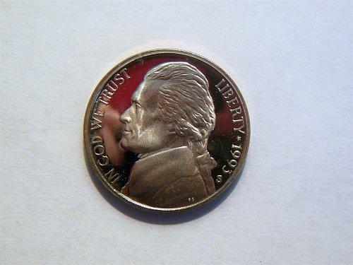 1993-S Jefferson Nickel